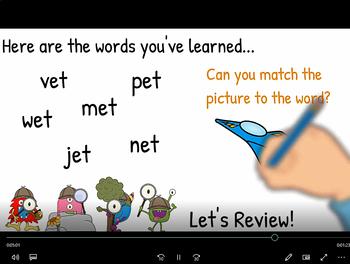 -et Word Family Video & Workbook (Monster Detectives)