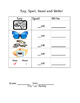 -ew and -ue word family worksheets