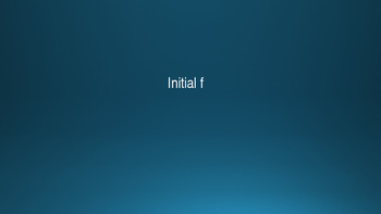/f/-Initial, Medial and Final