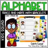 Alphabet Handwriting Trace and Write with Bracelets