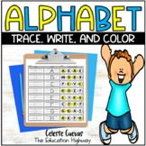 Alphabet Trace, Write, Dab, and Color