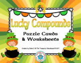 Compound Word Puzzle Cards and Worksheets for St. Patrick's Day