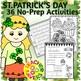 St. Patrick's Day No-Prep Activity Sheets