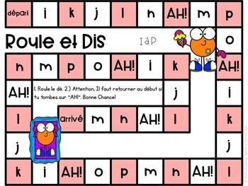 French Alphabet Identification Game I Roule et Dis