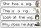 cvc sentence strips -short i