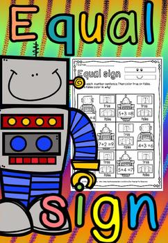 Equal sign Robots