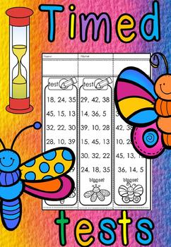 kindergarten biggest number