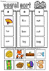 short vowels sort
