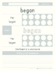 Articulation Sight Words /g/ and /k/
