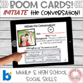 #distancelearning Boom Cards for Social Skills Initiate the Conversation!