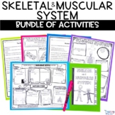 Skeletal and Muscular System Unit of Nonfiction Text Sketc
