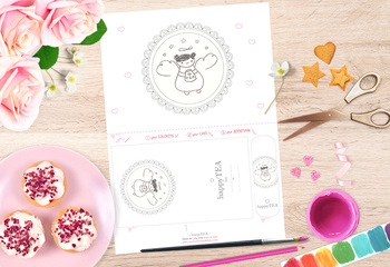 - happyTEA - Art Project Page