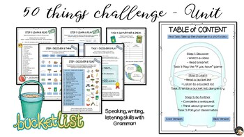 50 things I've done - EFL Lesson