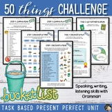 Reversed Bucket List Challenge - End of the year Unit