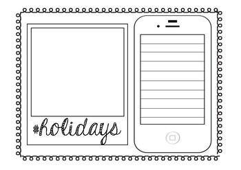 #Holidays Recount Worksheet