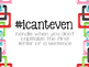#icanteven Classroom Reminders Poster Set (Multicolored Links)