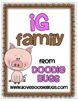 -ig Word Family Mini Unit