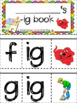 -ig word family flip book