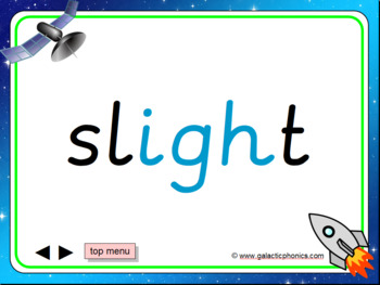 The 'igh' Phonics PowerPoint
