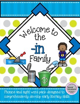 -in WORD FAMILY PHONICS AND SIGHT WORD WORK EARLY LITERACY