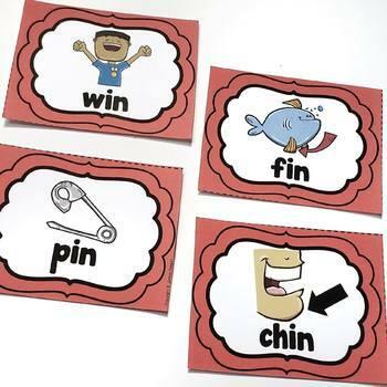 Word Family Fun! -in Family