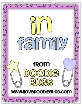 -in Word Family Mini Unit