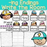 -ing Endings Write the Room