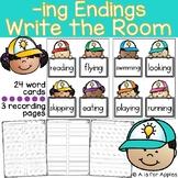 -ing Endings Write the Room