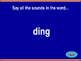 'ing' Word Family Jeopardy!