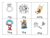 -ing Word Family Picture Cards
