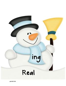 -ing ending: A Snowman Center