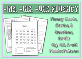 Ing, Ink, Unk Word Family Fluency Bundle: Charts, Stories,