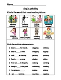 -ing worksheets--two levels