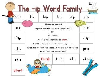 -ip Word Family