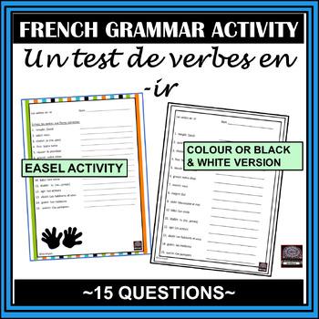 -ir verb quiz - Happy Hands Theme