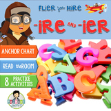 -ire, -ier Word Work ~Phonics~ Activity Pack
