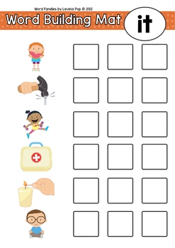 Word Families by Lavinia Pop | Teachers Pay Teachers