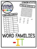 -it Word Family Pack NO PREP
