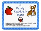 -it Word Family Playdough Mats