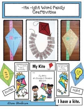-ite & -ight Word Family Craftivities