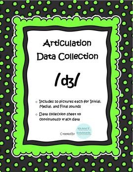 /j/ Articulation Data Collection Progress Monitoring Tool