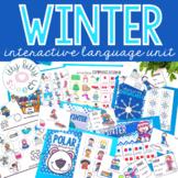 Winter Preschool Language Unit
