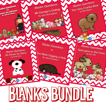 Blanks Questions BUNDLE