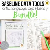 Baseline Data for Speech Therapy BUNDLE {printable}