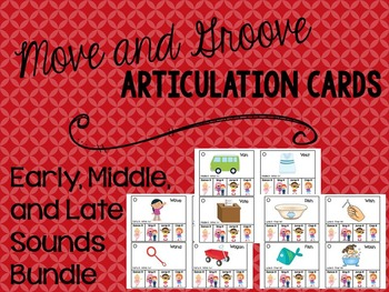 Move and Groove Articulation Cards Bundle