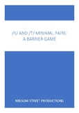 /k/ and /t/ Minimal Pairs: A Barrier Game