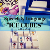 /k/ & /g/ - Speech & Language Ice cubes