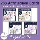 /k/, /g/, /t/, /d/ Articulation Flashcards - Initial, Medi