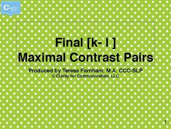 [k-l] FINAL Maximal Contrast Pairs Bingo