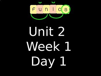 FUNdational FUNics Grade 2 Unit 2 Week 1 Day 1